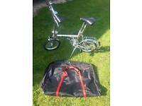 Diblasi folding bike great condition ideal for motorhome