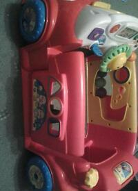 Fisher Price Laugh and learn crawl around car, Great Condition