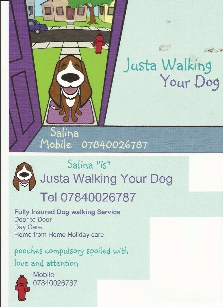 JUSTA WALKING YOUR DOG
