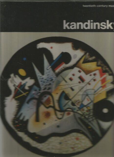 KANDINSKY by Arturo Bovi 1971 Twentieth-century Masters Hc Dj COLOUR B/W PHOTOS