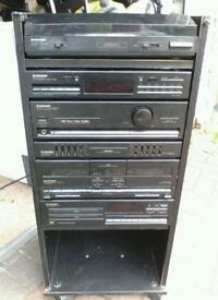 Vintage Retro Pioneer HiFi System - Perfect for amplifying mp3 devices