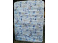 double size spring mattress. 190 x 135cm. . In good condition.
