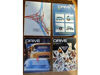 1970's AA DRIVE motoring magazines