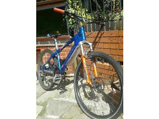 Mountain bike Saracen x cell custom bike not carrera vodoo giant treck cube