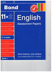 Bond English Assessment Papers 9-10 unused
