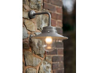 NEW Garden Trading Belfast Light in Coffee Bean colourway, plus free bulb. (2 available)