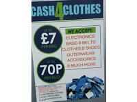 Cash for clothes Leicester