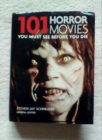 101 Horror Movies Book HALLOWEEN Trick or Treat FILM LIST Must See Before You Die GREAT READ