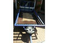 Golf buggy and trailer