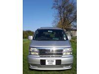 REDUCED FOR QUICK SALE, 3200cc '98 Reg silver Nissan Elgrand E50