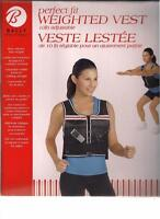 Weight Vest for Exercise, Strength Tranining, Workouts, NEW/Box