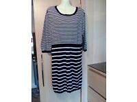 MATERNITY LONGLINE JUMPER BY NEW LOOK SIZE 16
