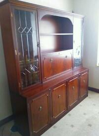 Wall unit and sideboard