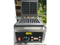 Commercial Buffalo waffle maker Cast iron plates. Brand new.