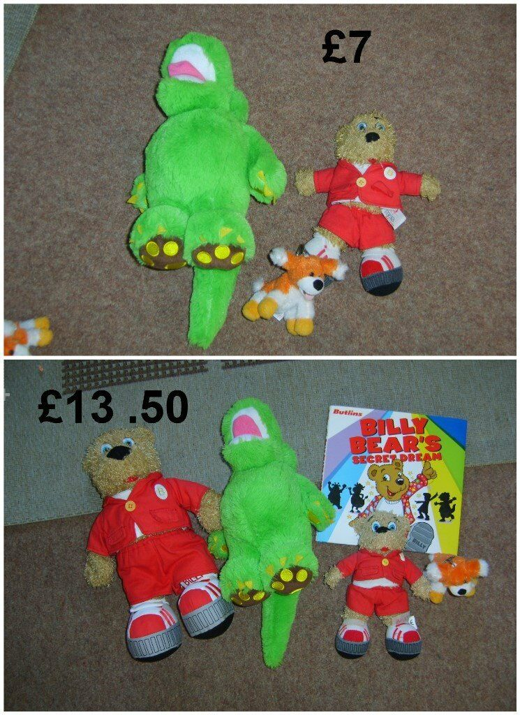 butlins , soft toys and keyring large bundle £13 smaller bundle £7 or £15 for all