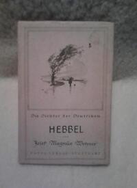 Hebbel. (German)
