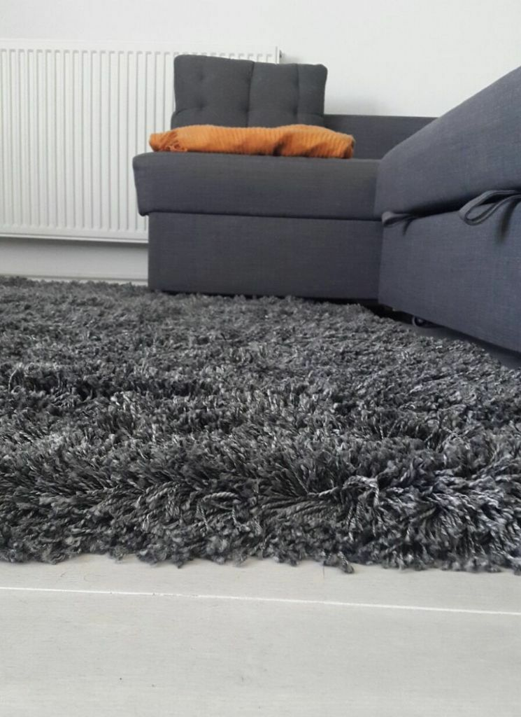 opportunity new ikea gaser rug unused dark grey 170x240cm in barnes london gumtree. Black Bedroom Furniture Sets. Home Design Ideas