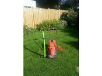 Flymo lawnmower and Challenge Strimmer (spares/repairs)