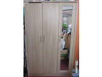 Used but beautiful brown colour wardrobe