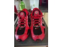 Nike shox size 8 worn once excellent condition