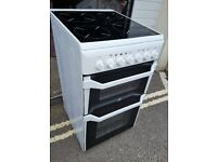 Indesit Electric Cooker 50 cm Wide Ceramic Hobs
