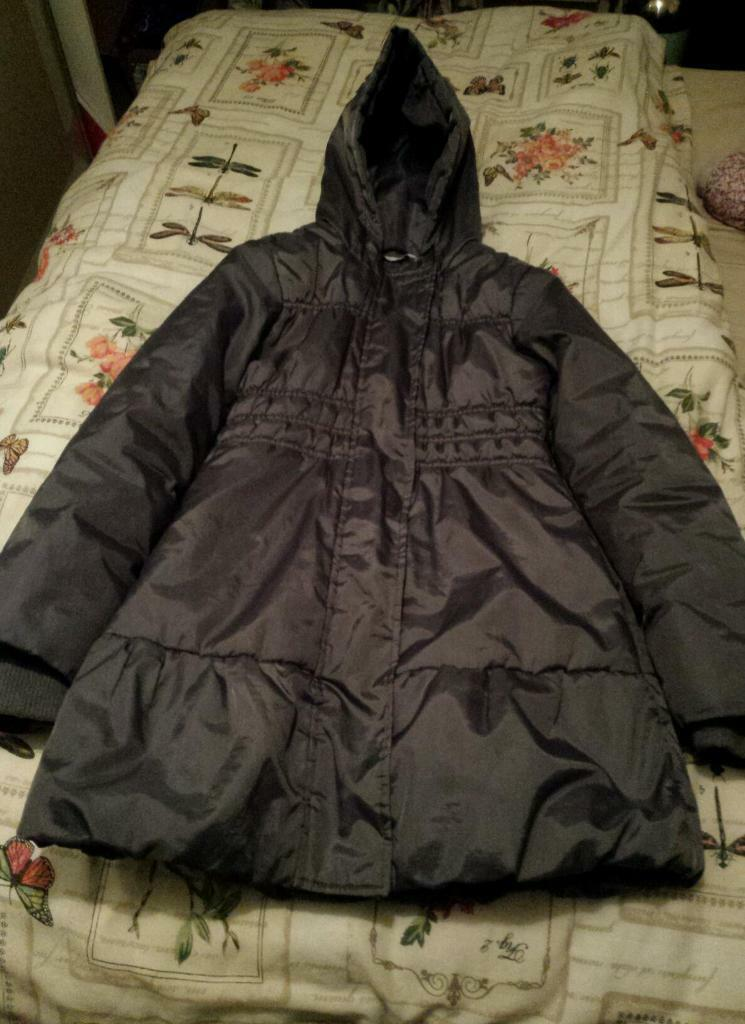 Girls M&S padded winter coat