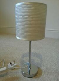 Chrome Table Lamp from Dunelm