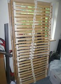 2 electric slatted