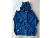 MUDDY PUDDLES Unisex Waterproof & Breathable Jacket ~ 5-6 /110cm (++) but VERY generous! BRAND NEW