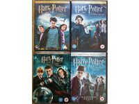 Harry Potter-Half-Blood Prince / Order of the Phoenix / Goblet of Fire / Prisoner of Azkaban [DVDs]