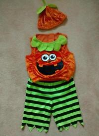 Pumpkin Halloween costume 6-12 months