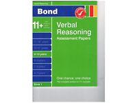 Bond Verbal Reasoning Assessment Papers 9-10