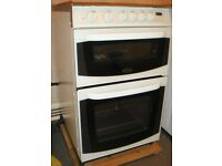 CANNON CHESTER Double Oven White Free Standing GAS COOKER