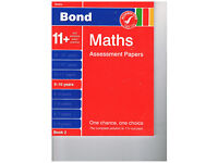 Bond Maths Assessment Papers 9-10 years unused
