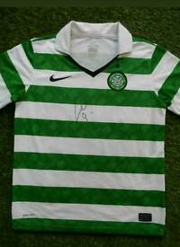 Leigh Griffiths hand signed Celtic shirt with Coa