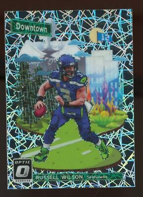 2018 Panini Donruss Optic Downtown #DT6 Russell Wilson SP Case Hit