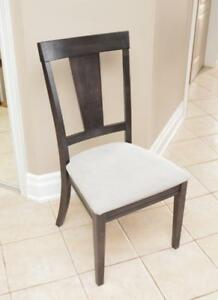 Solid Wood Accent Chairs - 1 chair only of each