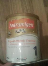 Nutramigen milk for free