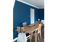 Dining Table and set of 4 Chairs