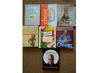 Bundle of cooking books - various authors