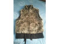 Faux vest size 12