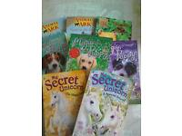 Bundle of books animal ark , my secret unicorn magic puppy
