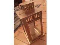 *WEDDING ITEMS* Vintage gold IKEA Borrby lanterns x 8
