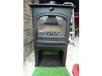 Hunter Woodburner wood burning multi fuel stove brand new unused unwanted prize open to offers