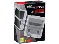 Nintendo 3DS XL - SNES Limited Edition - Like New, hardly used - Super Nintendo Console
