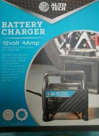 12 volt car battery charger new unused
