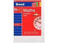 Bond Maths 10 Minute Tests 8-9
