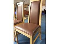 6 x dining table chairs (item 10)
