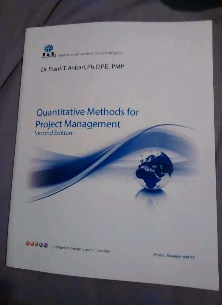 Quantitative Methods for Project Management