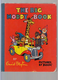 The Big Noddy Book Enid Blyton Pictures By Beek First Edition 1959 Free UK p+p!